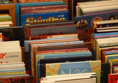 librairie bandes dessinées