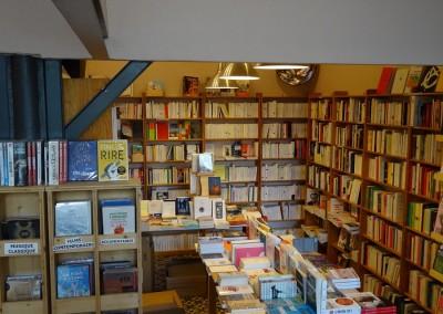 librairie vue d'ensemble