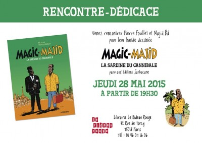 Dedicace magic le rideau rouge
