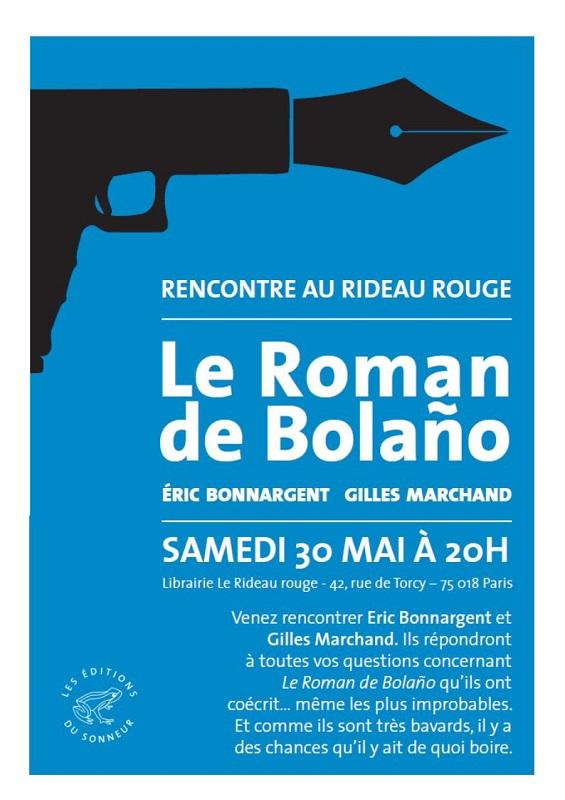 Le Roman de Bolano - Gilles Marchand et Eric Bonnargent