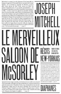 Le merveilleux saloon de McSorley
