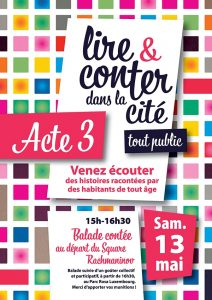 LIRE CONTER acte 3 flyer R°