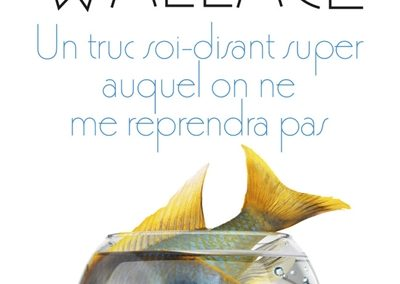 Un truc soi disant super auquel on ne me reprendra plus de David Foster Wallace